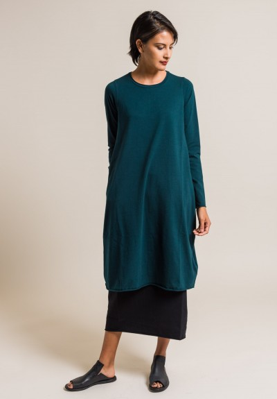 Labo.Art Abito Stilo Jersey Dress in Baltic