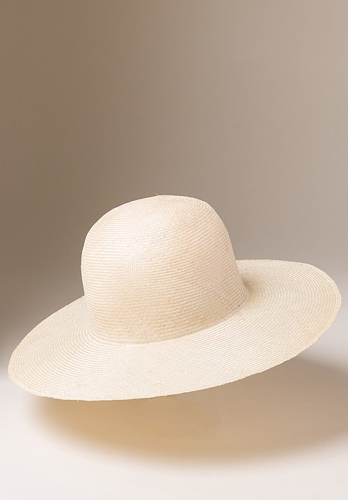 Reinhard Plank Straw Donna Hat in Light Natural