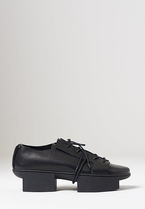 Trippen Rift Shoe in Black