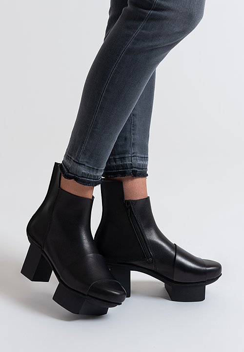 Trippen Metal Boot in Black