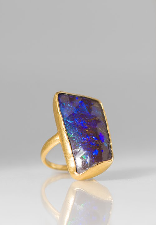 Pippa Small 18K, Opal Greek Ring