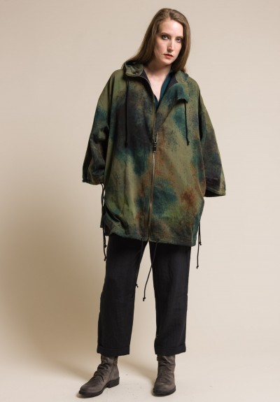 toogood Cotton Camouflage Explorer Anorak in Earth