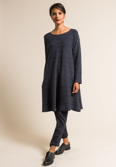 Oska Oversized Varali Dress in Slate