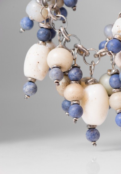 Holly Masterson Ancient Glass & Dumorteorite Necklace