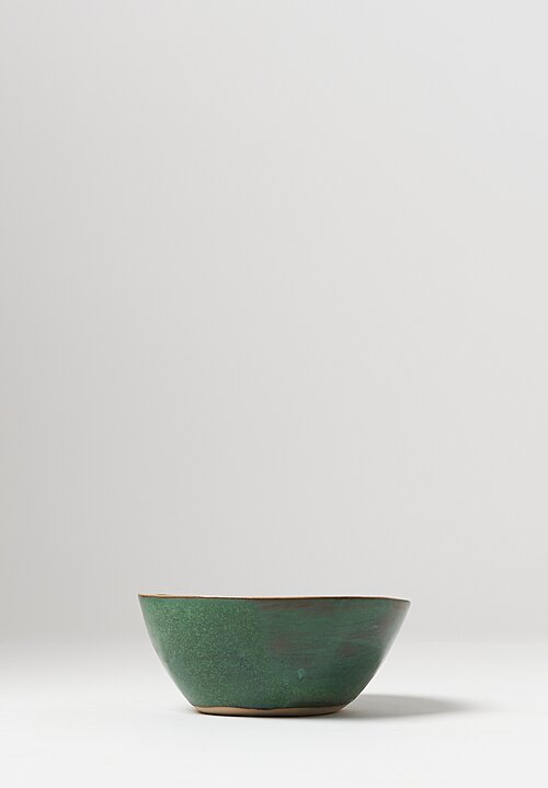 Ceramic Ramen Bowls in Green