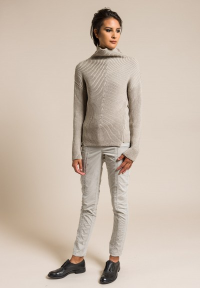 Annette Gortz Merino Wool Amin Sweater in Grege