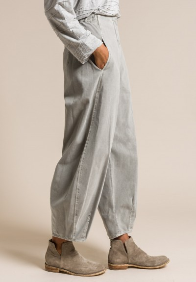Oska Stretch Cotton Viorella Pants in Moon
