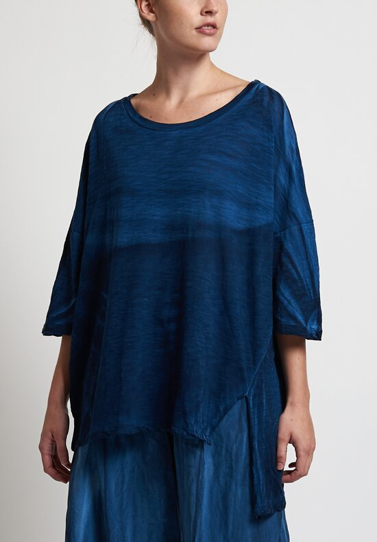 Gilda Midani Super Tee in Dark Deep Blue