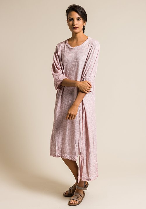 Gilda Midani Solid Dyed Long Super Dress in Pale Pink