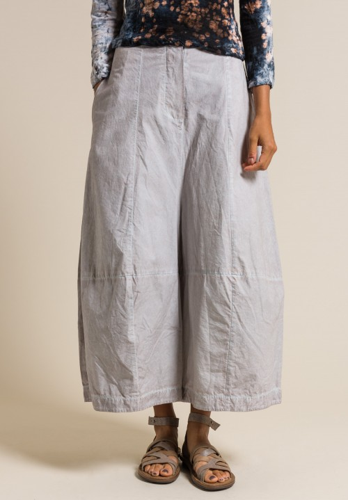 Gilda Midani Cotton Egg Pants in Steel