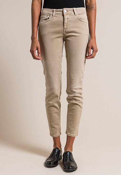 Closed Baker Cropped Narrow Jeans in Tundra