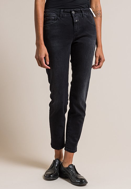 Closed Baker Cropped Narrow Jeans in Special Cosy Wash