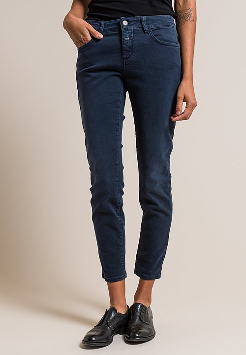 Closed Baker Cropped Narrow Jeans in Washed Denim