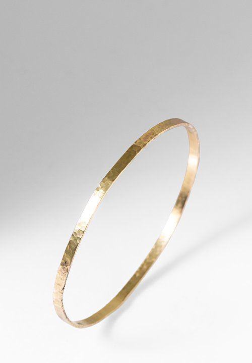 Greig Porter 18K Medium Gold Bangle