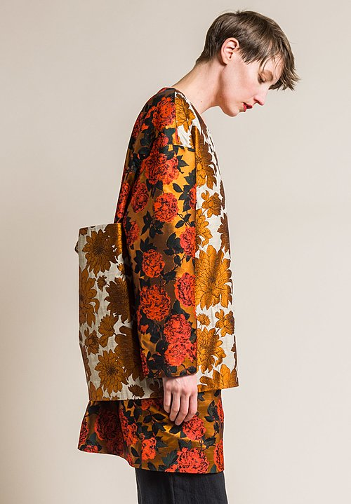 Ms MIN Floral Layered Tunic