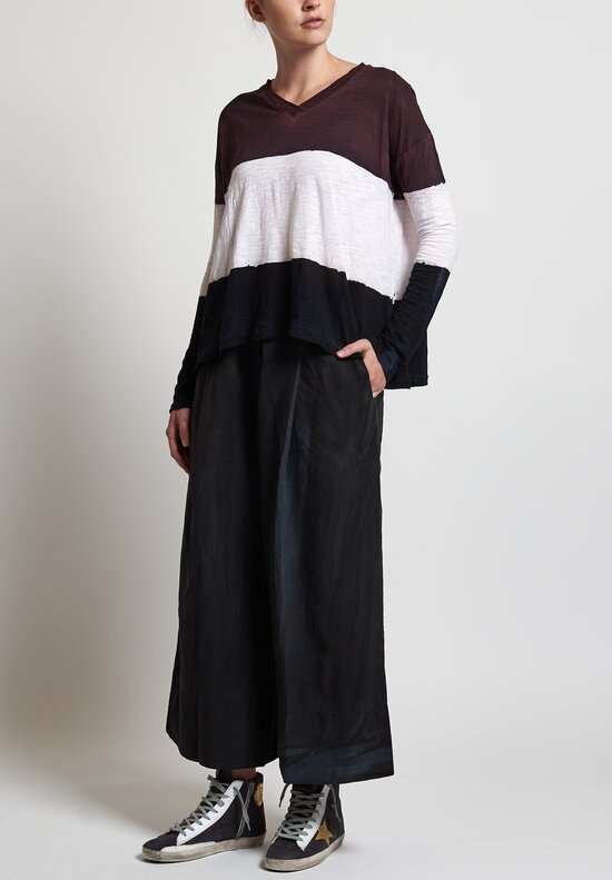 Gilda Midani Pleat Pants in Black