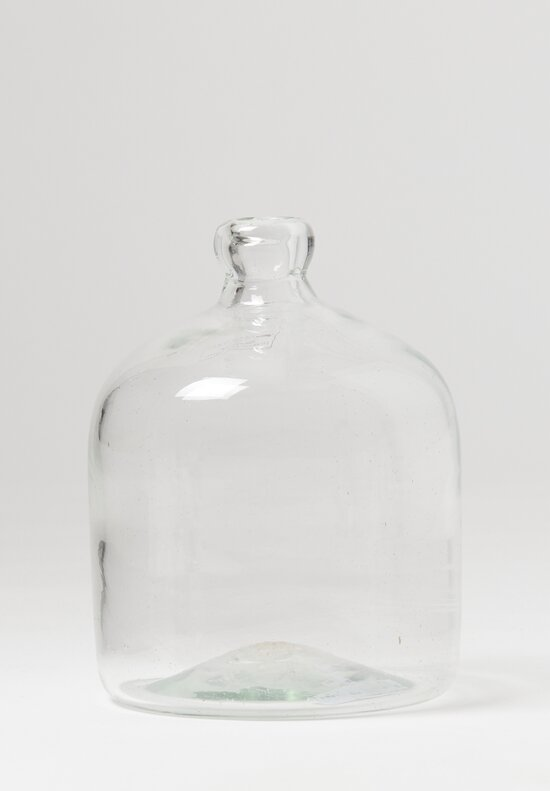 Studio Xaquixe Large Handblown Carboy Clear Bottle