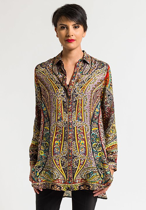 Etro Spring/Summer 2018 Paisley Blouse