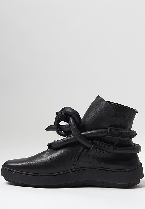 Trippen Rope Bootie in Black