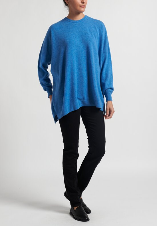 Hania New York Cashmere Marley Sweater in Indis Blue
