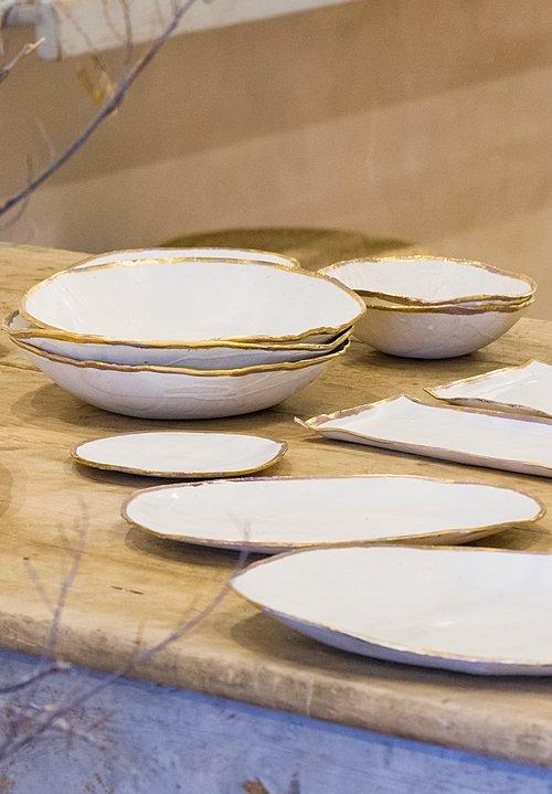 Jan Burtz » Home Goods » Dinnerware » Santa Fe Dry Goods Trippen Rundholz Avant Toi Greg Lauren & Jan Burtz » Home Goods » Dinnerware » Santa Fe Dry Goods Trippen ...