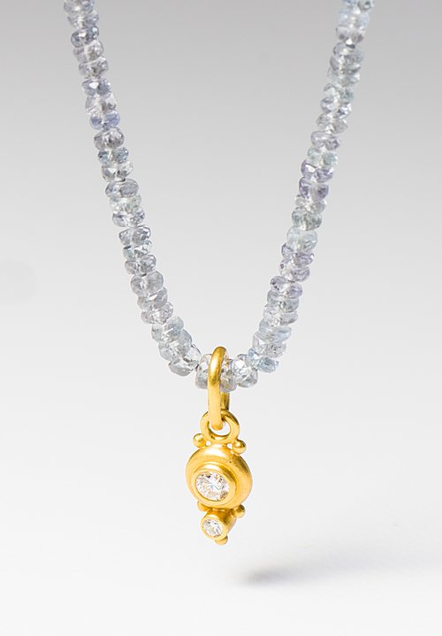 Denise Betesh 22K, Double Diamond Pendant