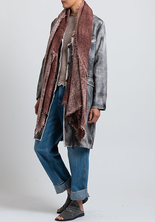 Avant Toi Hemp Jacket in Grey