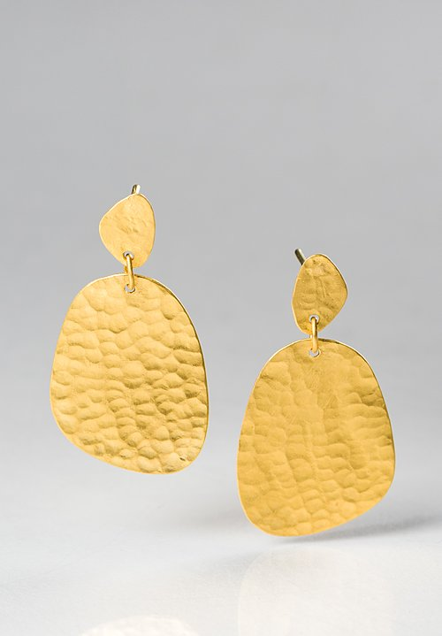 Yossi Harari 24K Gold Melissa Earrings
