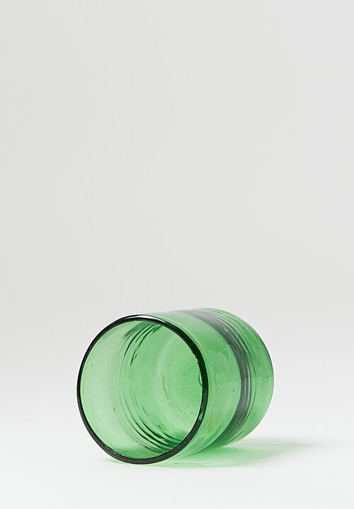Handblown Glasses in Vert