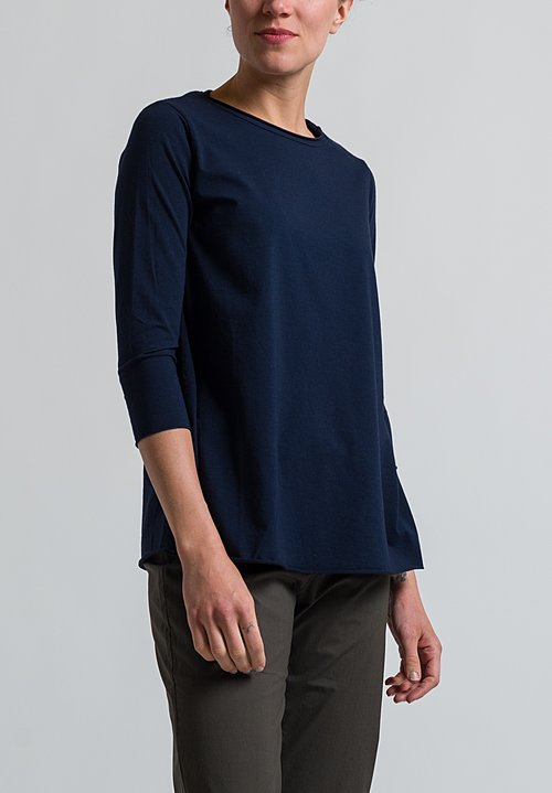 Labo.Art Jeppe Jersey Tee in Atlantic