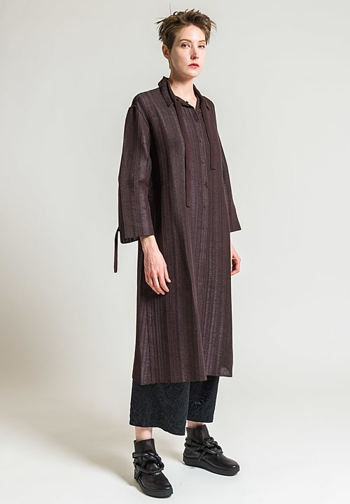 Boboutic Shirt Dress in Grey/Brown
