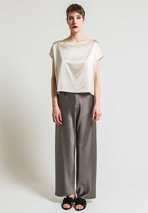 Peter Cohen Silk Ways Blouse in Ecru