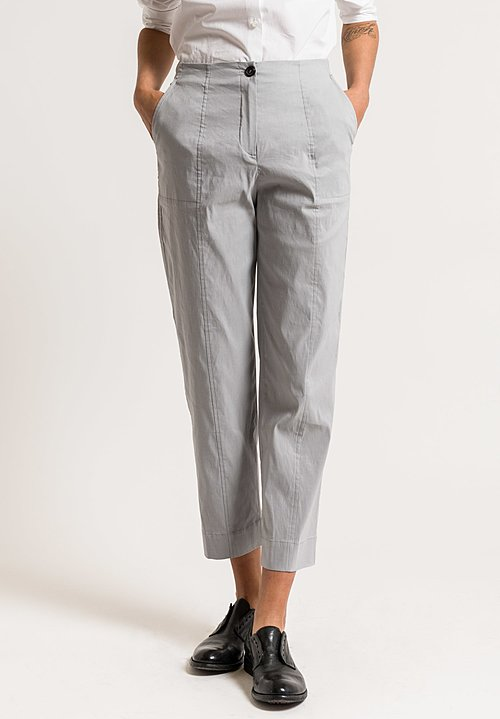 Peter O. Mahler Comfort Pants in Metal