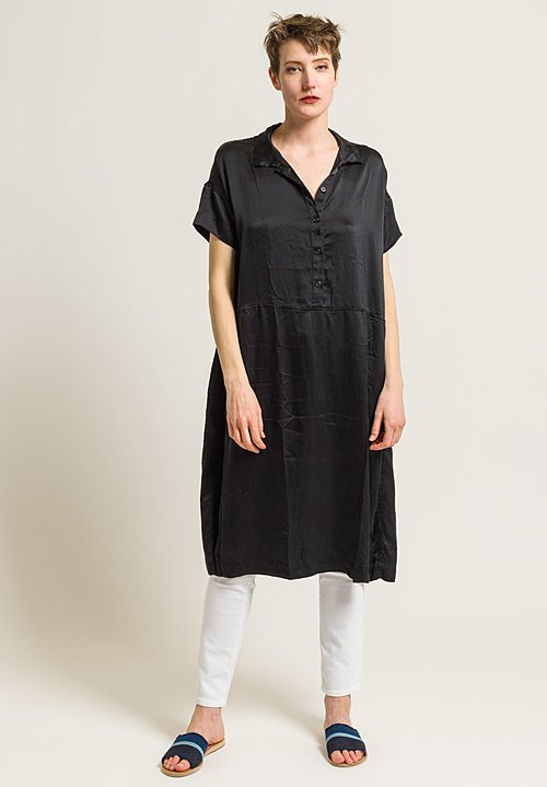Casey Casey Silk TTT Dress in Black