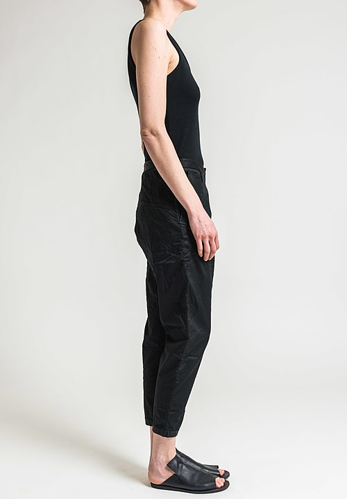 Umit Unal Straight Leg Pants in Black