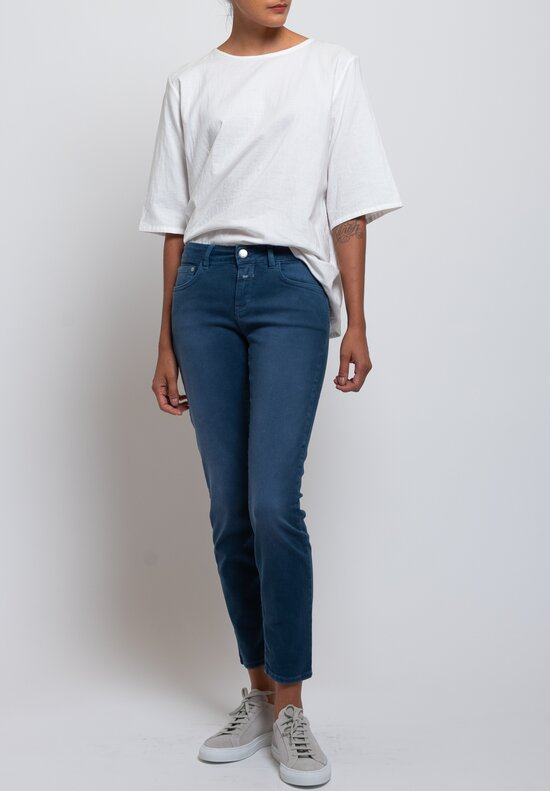 Closed Baker Cropped Narrow Jeans in Navy
