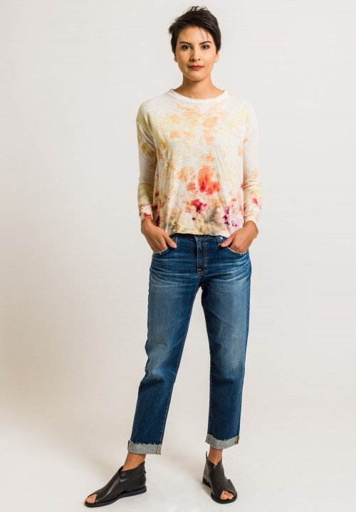 Gilda Midani Straight Trapeze Tee in Sunstain