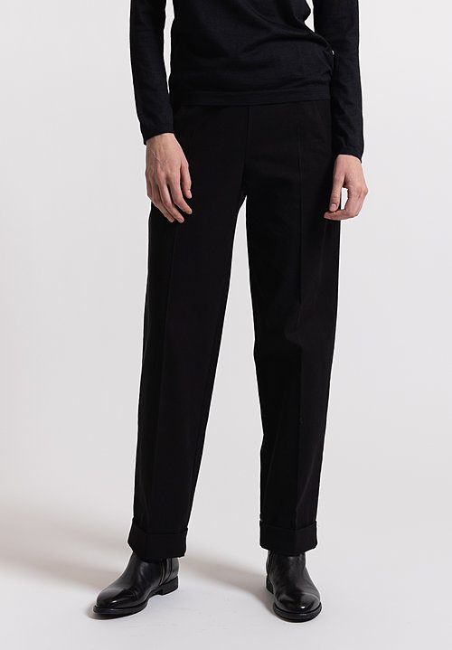Urban Zen Slim Pant in Black