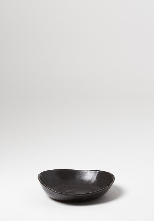 Danny Kaplan Handmade Ceramic Pasta Bowl in Black