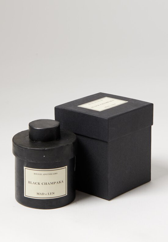 Mad et Len Black Champaka Scented Candle