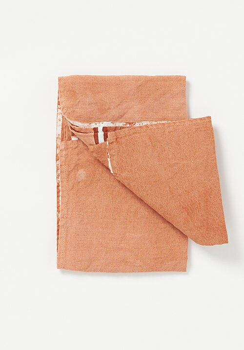 Bertozzi Handmade Linen Kitchen Towel in Mattone