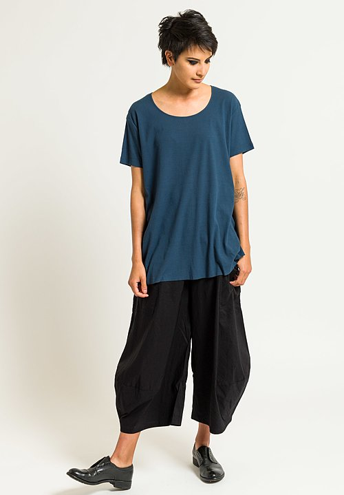 Rundholz Ribbed Jersey Tee in Topas