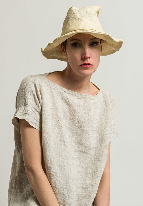 Reinhard Plank Tom Straw Hat in Natural