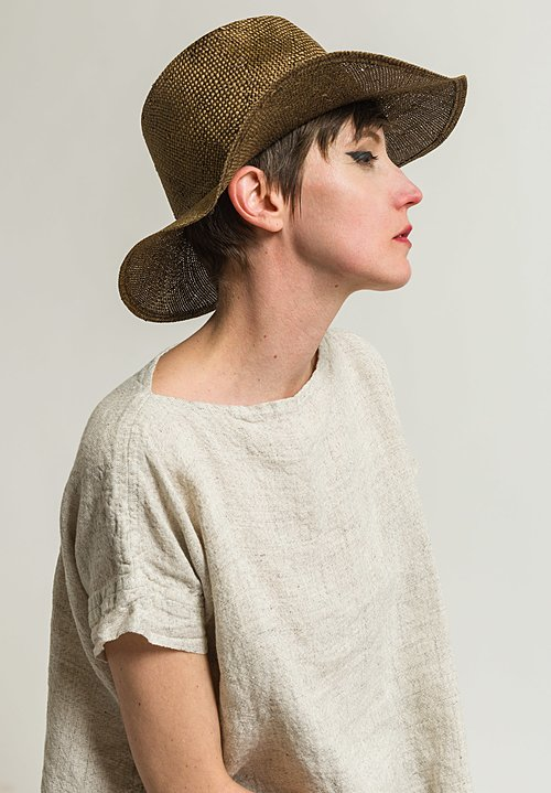 Reinhard Plank Small Nana Hat in Gold Stone Washed