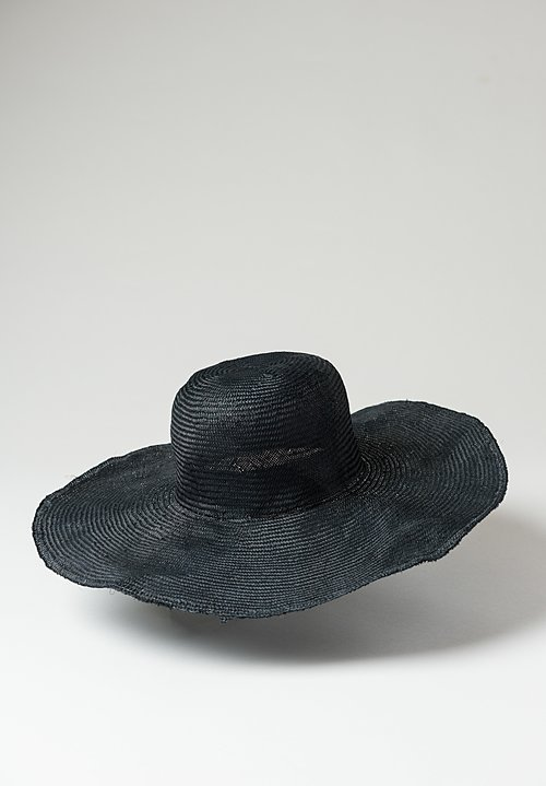 Reinhard Plank Donna Para Hat in Black
