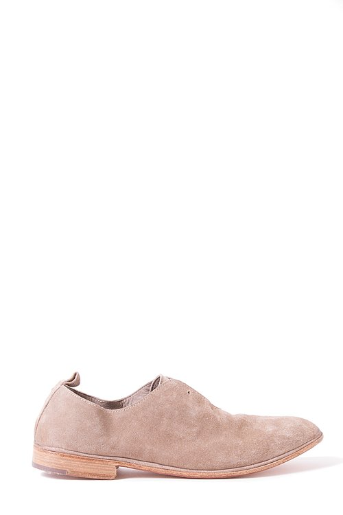 Elia Maurizi Leather Loafer in Softy Antilop