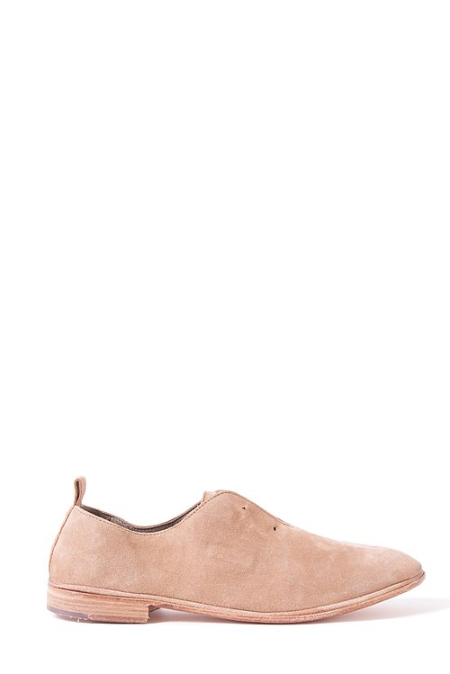 Elia Maurizi Leather Loafer in Softy Tabacco