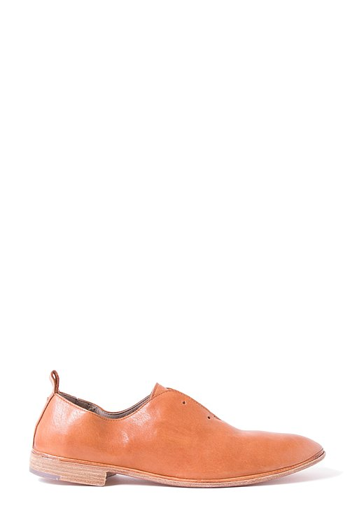 Elia Maurizi Leather Loafer in Avirex Brandy