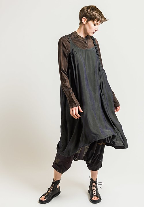 Rundholz Twisted Strap Tunic in Opal