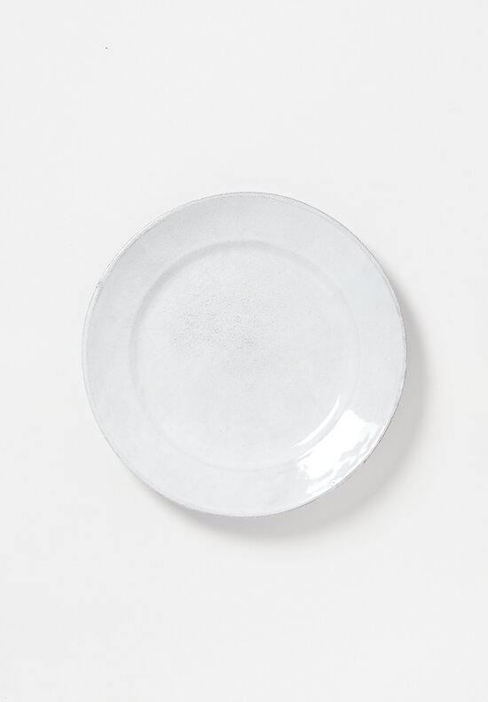 Astier de Villatte Sobre Dinner Plate in White